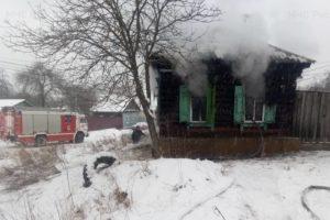 При пожаре в жилом доме в Клинцах погиб мужчина
