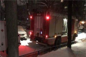 В полуночном пожаре в Брянске есть жертва