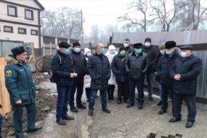 В Клинцах городские власти собрали консилиум над провалом грунта