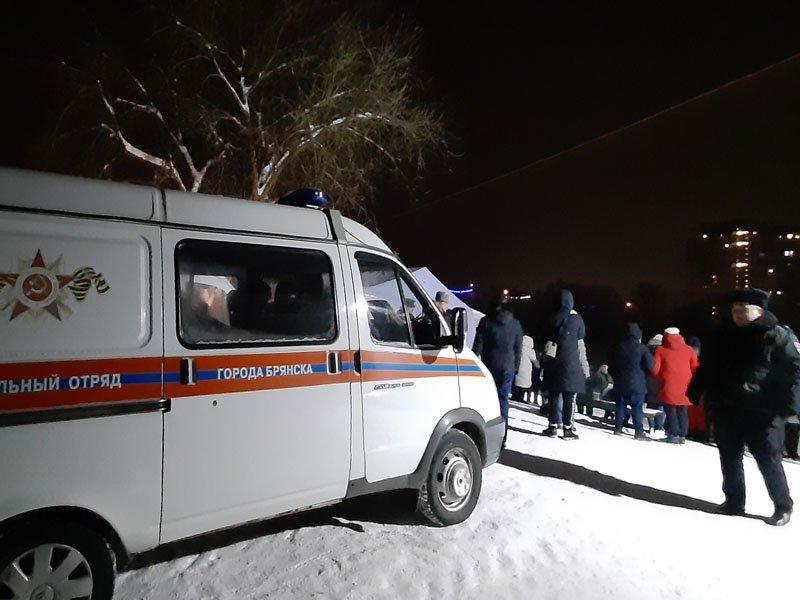 В крещенскую ночь в Брянской области искупались более трёх с половиной тысяч человек