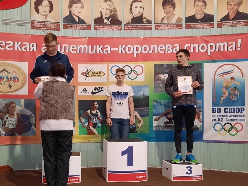 В бежицком спортманеже состоялся чемпионат Брянской области по лёгкой атлетике