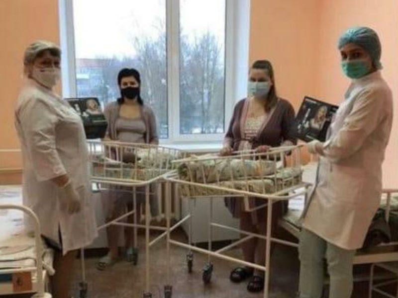 В новогоднюю ночь в Брянской области родились шестеро малышей