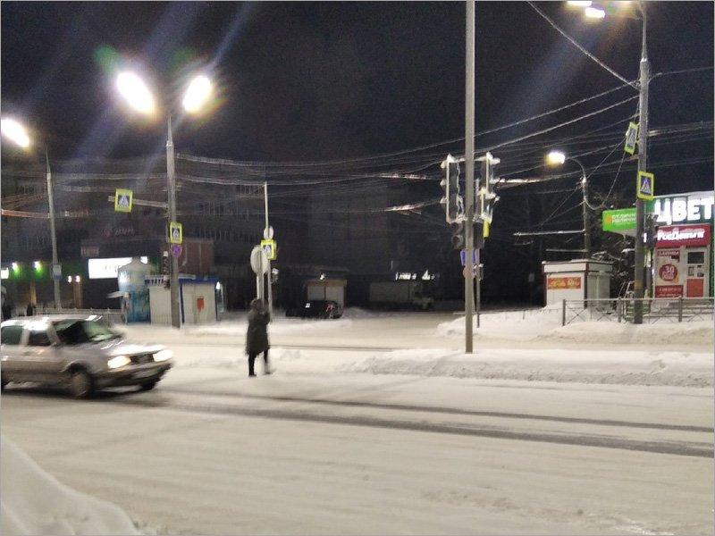 Жители Брянска пережили самую холодную ночь за последние четыре года