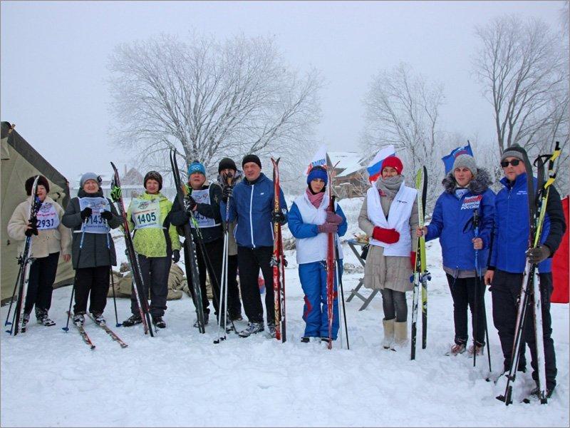 Почепский район провёл «Лыжню России». За три недели до «Лыжни России»