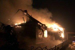 По факту гибели матери и ребёнка в страшном пожаре в Брянской области возбуждено уголовное дело