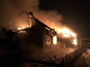 Ночной пожар в Брасовском районе унёс две человеческие жизни