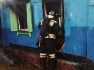 В утреннем пожаре под Новозыбковом погибла пожилая женщина