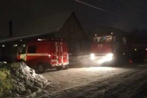 В ночном пожаре в Советском районе погиб пожилой мужчина
