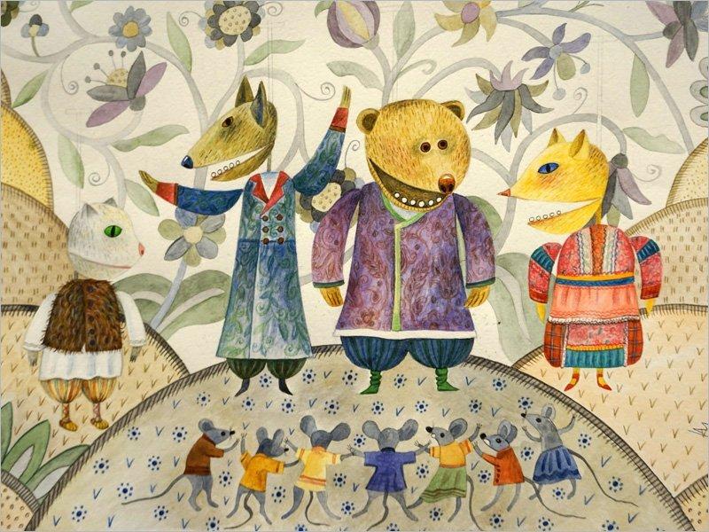 Брянский театр кукол готовит премьеру про Лису и Кота
