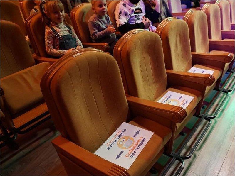 В Брянском театре кукол разрешено заполнение зала на 40 процентов
