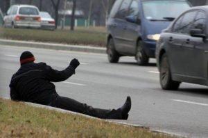 В Брянской области за три дня с проезжей части удалили 70 пьяных пешеходов