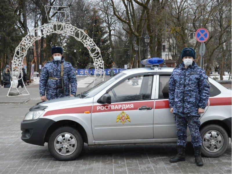 Православные верующие Брянской области были в безопасности в Рождественскую ночь