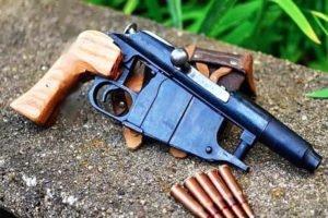 Житель Дятьковского района был задержан за самодельный пистолет с патронами