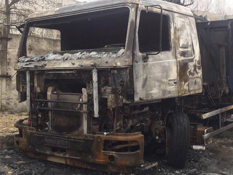 В Брянске разыскиваются свидетели поджога грузовика