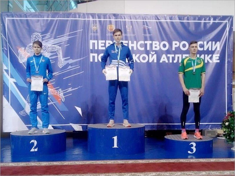 Брянский легкоатлет завоевал две золотых медали первенства России