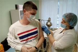 В Брянской области ковид-вакцину получили более 40 тыс. человек