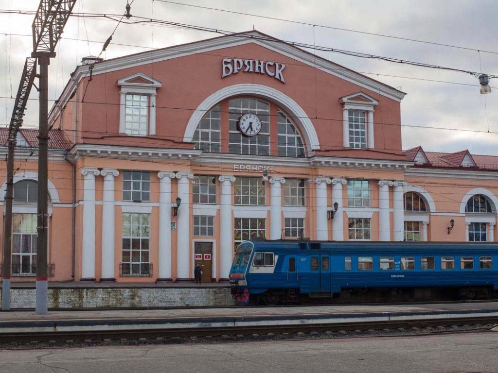 Пассажирам представили актуальное расписание автобусов через железнодорожный вокзал «Брянск-I»