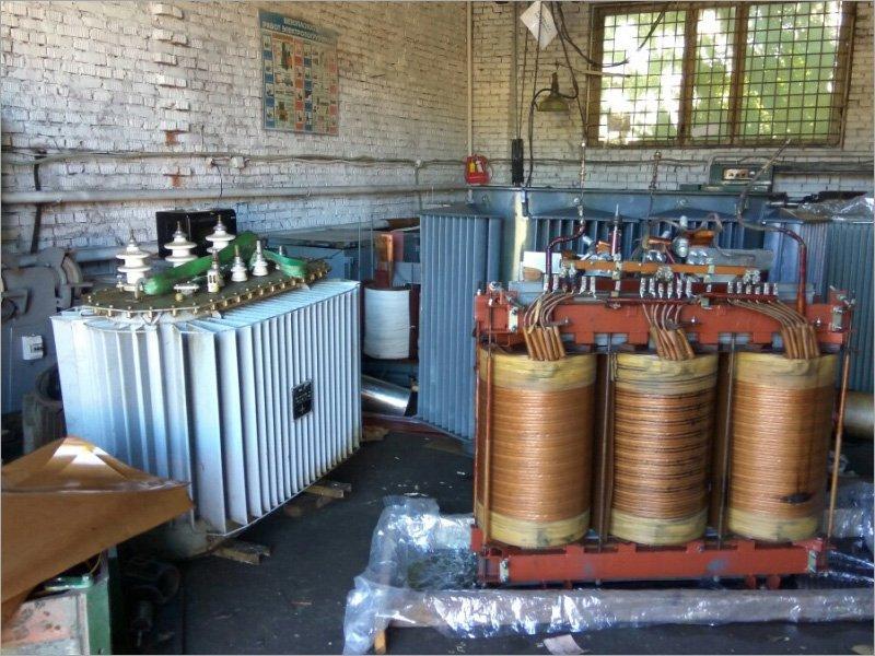 В ремонтном цехе «Брянскэнерго» за год отремонтировано более 70 силовых трансформаторов