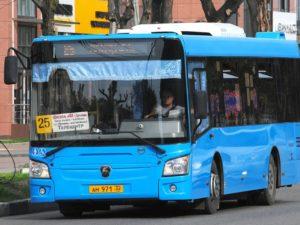 В Брянске продлили работу автобуса № 25 по выходным