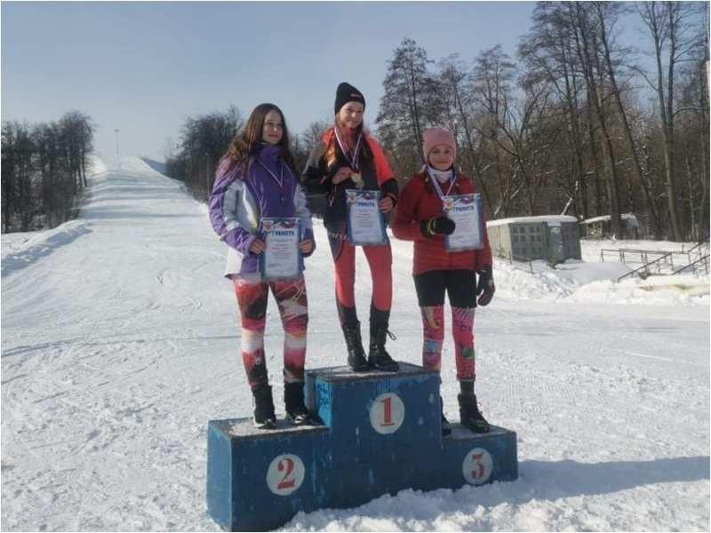 На склонах спортпарка «Варяг» прошли соревнования по горнолыжному спорту