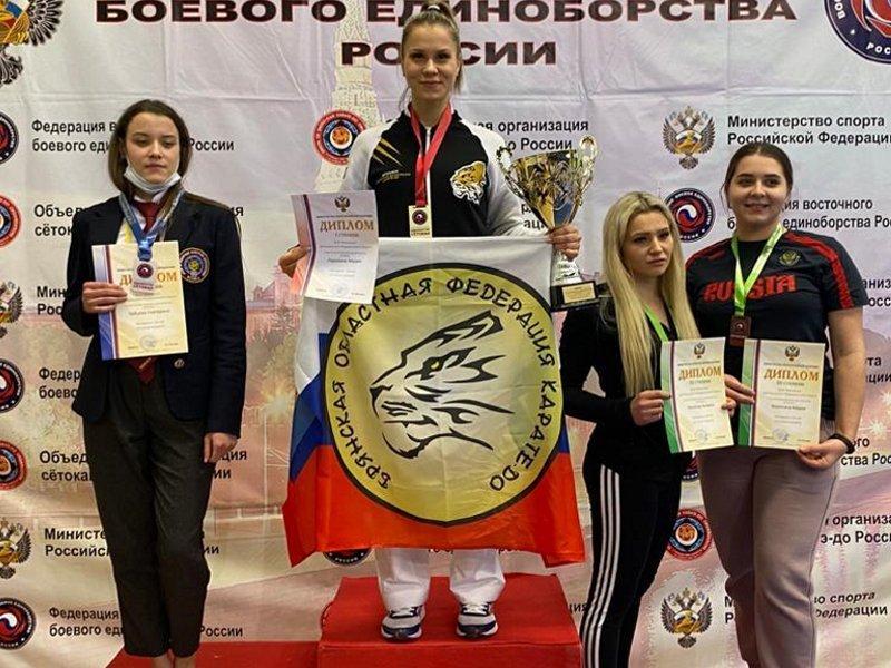 Брянская спортсменка привезла золото с чемпионата ЦФО по восточным единоборствам