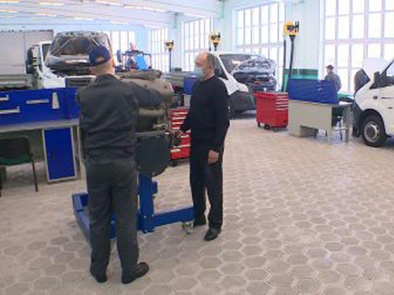Трубчевский политехнический техникум получил новое оборудование для проведения WorldSkills