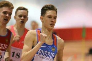 Брянский легкоатлет Захар Соболев привёз очередную победу из Москвы