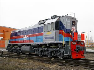 В Монголию поставлены два маневровых тепловоза ТЭМ18ДМ брянского производства