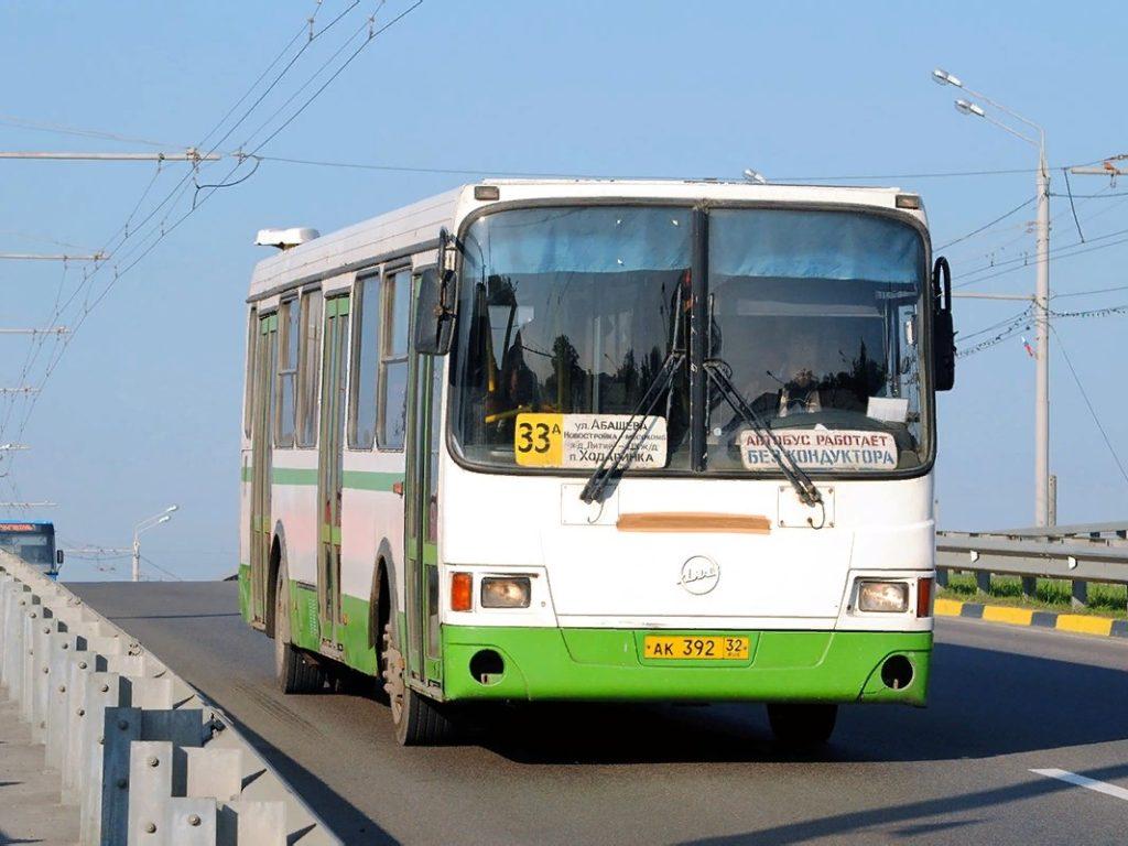 В Брянске скорректируют расписание автобуса №33