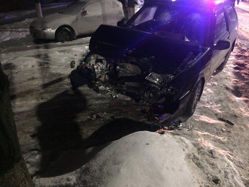 В результате столкновения легковушек на Новом Городке пострадала молодая пассажирка