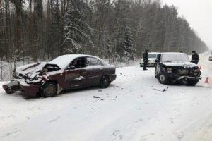 В массовом ДТП в Унечском районе пострадал водитель-пенсионер