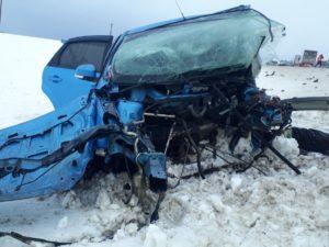 В Брянской области в лобовом ДТП под Унечей два человека погибли, ещё двое госпитализированы