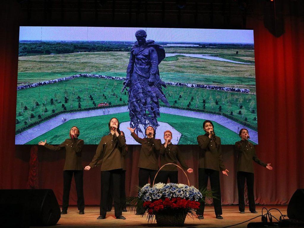 В Брянске завершился XX фестиваль солдатской песни «Сюда нас память позвала»
