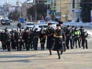 В Брянске руководители  области, города и силовых структур почтили память погибших защитников Отечества