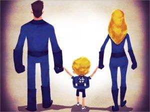 Российские школьники считают героями своих родителей. И Человека-паука