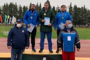 Брянский легкоатлет Александр Ванюгов снова стал лучшим в метании молота
