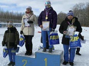 Максим Ковалёв и Полина Панина стали первыми на домашних лыжных гонках