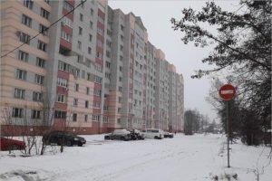 Власти Брянска решили проблему «вечной лужи» на улице Медведева «кирпичами»