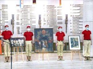 «Война на холсте как память поколений»: волгоградская экспозиция пополнилась картинами брянских художников