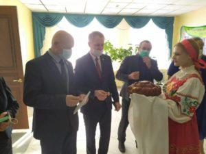 В Погаре торжественно открыт обновлённый районный ДК
