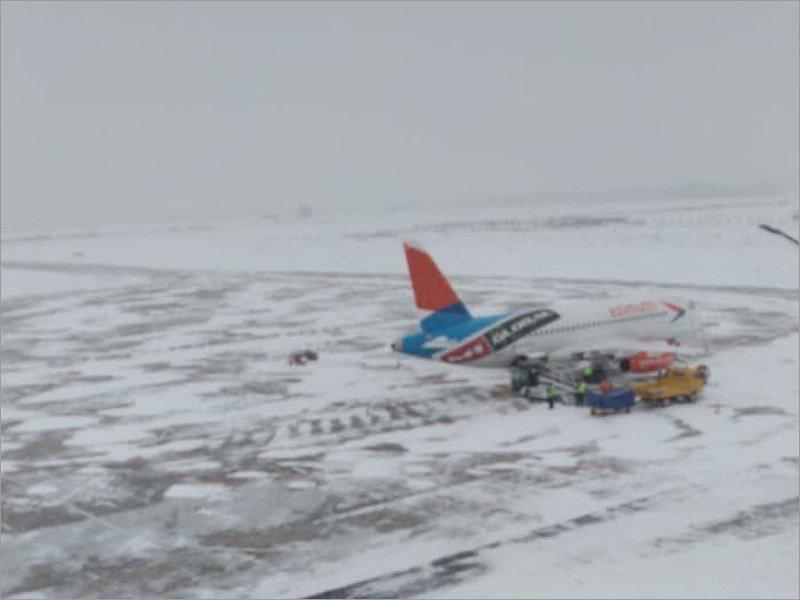 Аэропорт «Брянск» работает в штатном режиме и принимает с утра рейсы