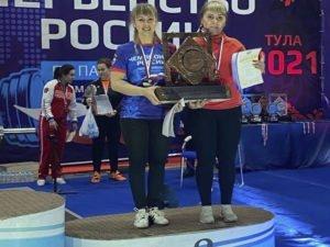 Женская сборная области по пауэрлифтингу превзошла сама себя на чемпионате в Туле