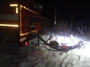В ночном пожаре жилого дома в Клинцах погибла хозяйка