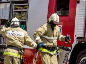 В результате пожара на балконе в Бежице никто не пострадал
