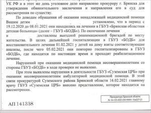 Брянская прокуратура запуталась в собственных отписках по проверкам смертельного ДТП под Трубчевском