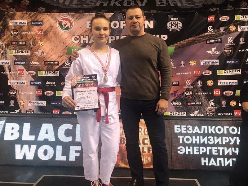 Брянская спортсменка стала победительницей первенства Европы по рукопашному бою