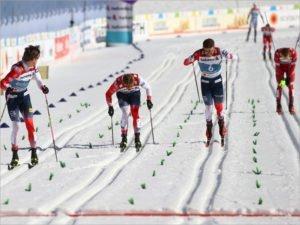 Александр Большунов отказался общаться с журналистами после «деревянной медали» спринта на ЧМ