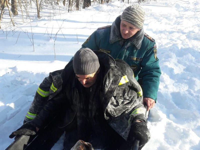 Заблудившийся житель Выгоничского района провёл ночь на морозе, чудом выжил и был спасён