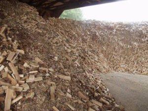 Брянское деревообрабатывающее предприятие привлекли за неучтённые отходы
