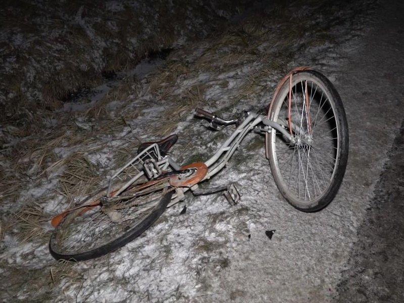 Пьяный водитель иномарки под Мглином сбил насмерть пожилого велосипедиста